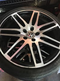 "VW 18"" RIMS AND TIRES from Jetta GLI Vaughan, L4K 5L9"