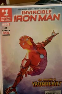 Invincible iron man (Riri) 1-11 Fairfax, 22032