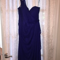 Women's blue one shoulder dress  Lorton, 22079