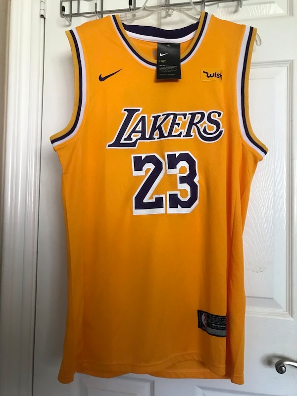 best loved 9db1f c0de0 Lebron James Lakers Jersey