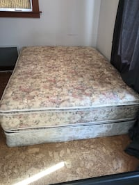Free queen size mattress and boxspring
