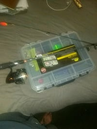 Fishing pole, tackle box, fishing lures  Roanoke, 24019