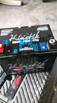 Car audio supply battery