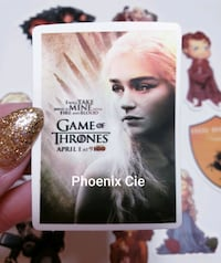 50 autocollants GAMES OF THRONES / GAMES OF THRONES stickers  Montreal, H1W 1S4