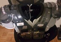 black and gray shoulder pads 541 km