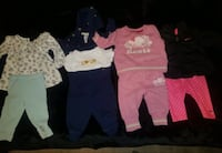 4 - 2 piece outfits.  Size 3-6mths.  EUC Guelph, N1H 6Y9