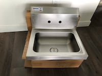 Commercial wash hand wall mount sink  Coquitlam, V3B