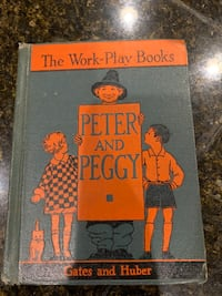 Antique Book Peter & Peggy Book
