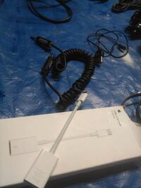 black and gray corded device