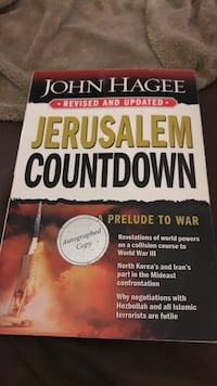 Jerusalem countdown a prelude to war by john hagee book Edwardsville, 62025