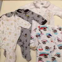 Baby boy 3M month lot onesies  Mississauga, L5G 2A3