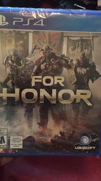 Ps4 one for honor game case Calgary, T2G 2R4