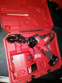 red Milwaukee cordless power tool with case Spring Valley, 91977