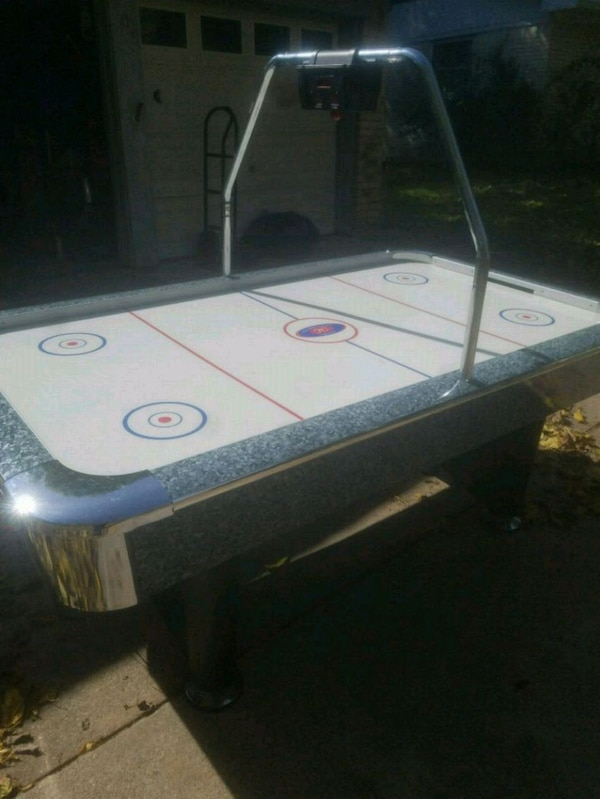 Used Tournament Choice Air Hockey Table For Sale In Burleson Letgo