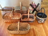 Older Wicker Baskets - $10 each London, N6B 2B2