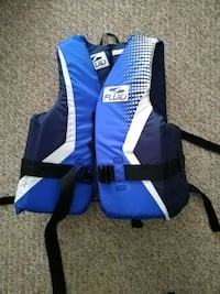 blue and white life vest Vancouver, V5T 2T2