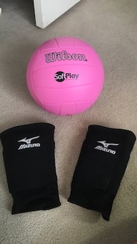 Volleyball and knee pads Winnipeg, R2M 1R7