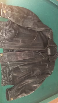 Black leather jacket Calgary, T2C 3L9