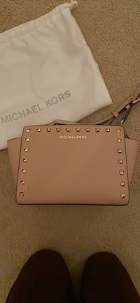 Michael Kors Studded Crossbody Purse