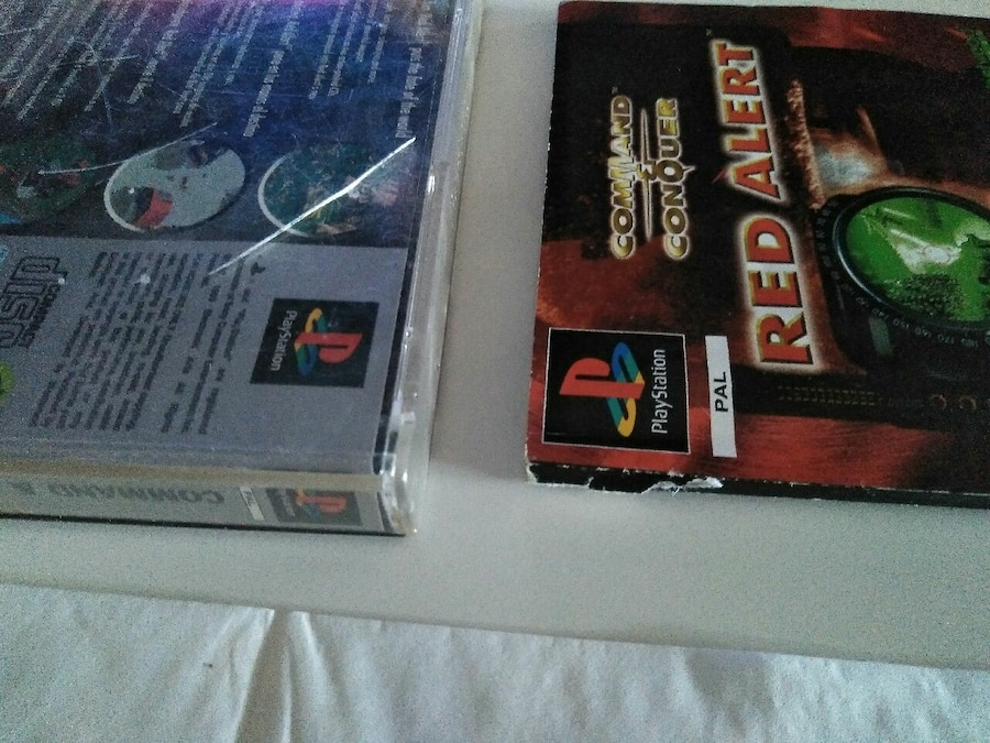 Command & conquer Red Alert (PlayStation) completo - Madrid