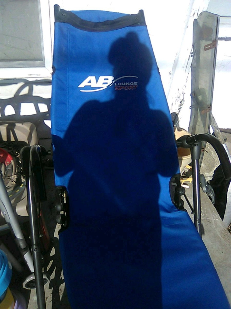 Used, blue and black AB lounge for sale  Christopher