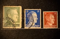 Alman Pul koleksiyonu - Hitler - Germany Stamp Collection