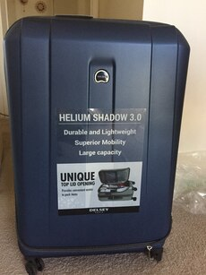 black Helium Shadow 3.0 luggage]