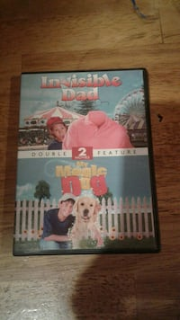 Invisible Dad and My Magic Dog DVD movies