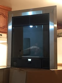 New Stainless Ethanol Fireplace !! Pincourt