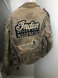 Authentic Indian Motorcycle Jacket (Very Rare) Toronto, M9A 0B7