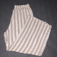 Striped Flowy Casual Pants (2X) Martinsburg, 25401