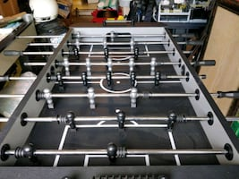 Soccer Foosball Table. Great for game rooms!