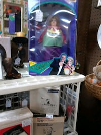 Mimi bobeck collectible doll  from the drew Carey  Orrtanna