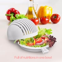 Free Delivery Salad Cutter Bowl  莫雷诺谷