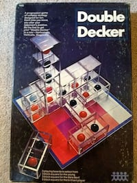 Vintage 1971 Double Decker(Cube Fusion) Board Game Pittsburgh, 15237
