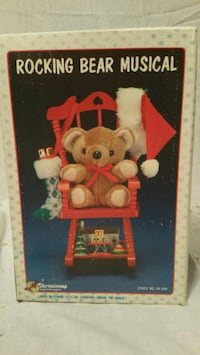 Christmas Teddy Bear in Rocking Chair Hagerstown, 21740