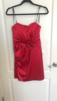 Red cocktail dress size 11/12