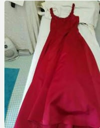 women's red gown Evergreen, 80439