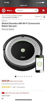 Roomba 690 Chesapeake, 23321