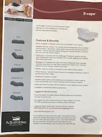 white Scape mattress poster Ault, 80610