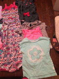 2t/3t summer lot, mostly 2t. 2 skorts, 10 paid of shorts, 3 rompers ,3 shirts. Landrum, 29356