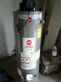 gray Rheem water heater Detroit, 48227