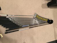 LIKE NEW COMPLETE NIKE SQ SET WITH TAYLORMADE DRIVER, NIKE PUTTER AND MORE!!(read below) GOLF SET Potomac, 20854