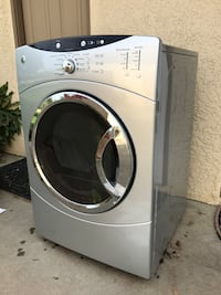 White front-load clothes dryer Woodlake, 93286