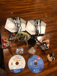 Ps4 infinity games and figures lot