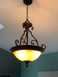 Light fixture. Works perfectly. Very pretty. Please pick up in fletcher