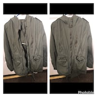 Used just need cleaning to dry cleaner Black trench coat collage El Centro, 92243