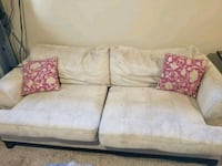 white fabric 2-seat sofa Martensville, S0K 0A2