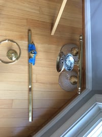 3pcs includes; towel rod, towel ring, and light fixtures ! Springfield, 22150