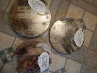 Round tempered glass cutting board  Edmonton, T5S 2B4